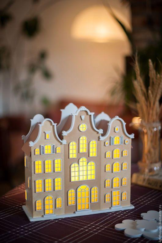 Light for nursery | Освещение ручной работы. Ярмарка Мастеров - ручная работа. Купить Замок для Девочки. Светильник-домик, ночник для детской.. Handmade. Бежевый