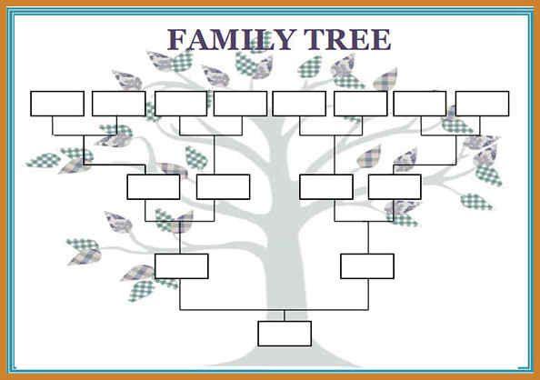 Family Tree Maker Templates Family Tree Worksheet Free Family Tree Template Family Tree Printable