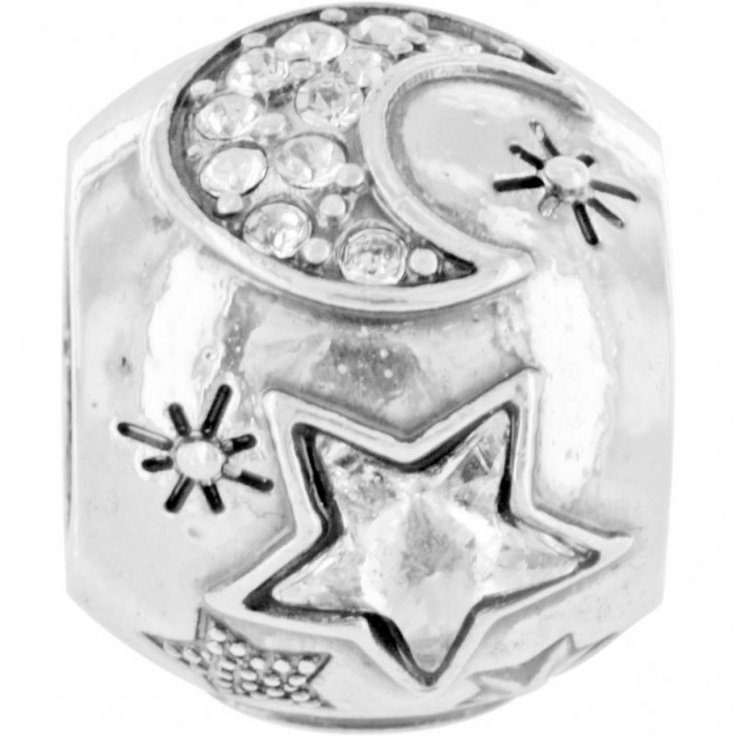 Moon & Stars Bead | Brighton Charms to Buy | Pinterest ...