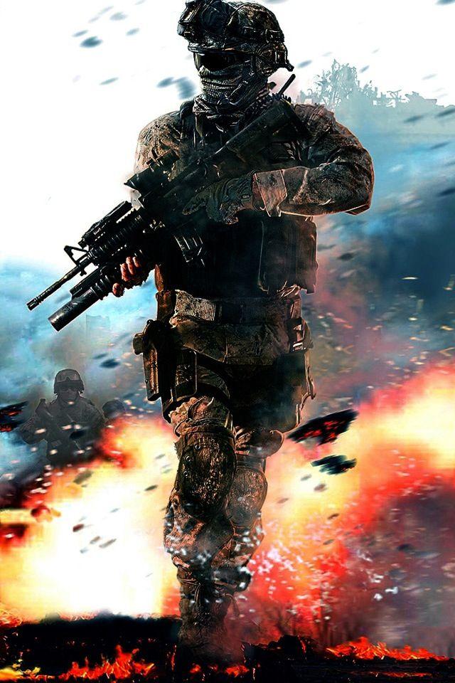 Black ops soldier