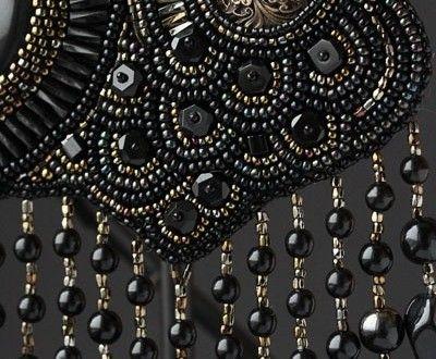 Aprenda a bordar para criar suas novas peças de bijus bordadas em tecido. | Como Criar Bijuterias – Montagem de Bijuterias: Como Fazer e Vender, Passo-a-Passo, Idéias e Muito mais.
