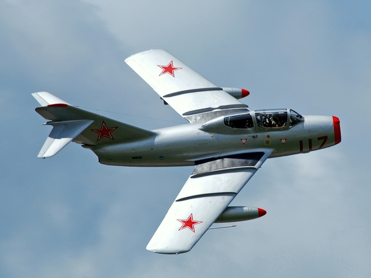 mig 15 but it looks like a trainer