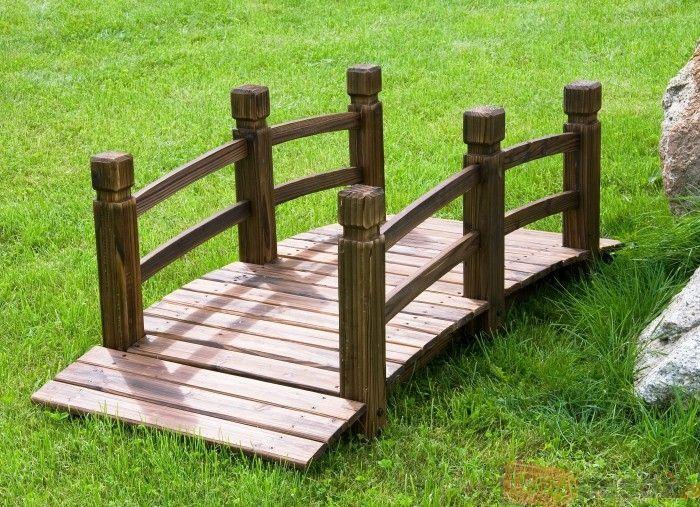 Kładka drewniana do ogrodu - BioPeak