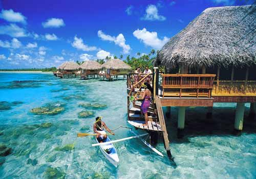 French polynesia where i d like to be pinterest for Bungalows sobre el agua en mexico