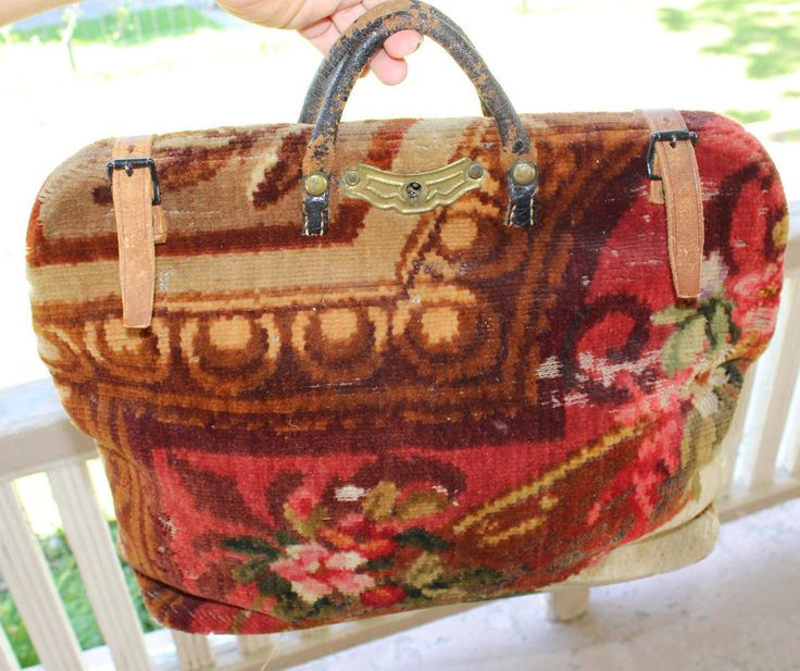 13 Best Images About Carpet Bags On Pinterest