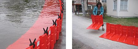 "GADELIUS - NOAQ AB Flood Protection System<br />""Tubewall"" & ""Boxwall"""