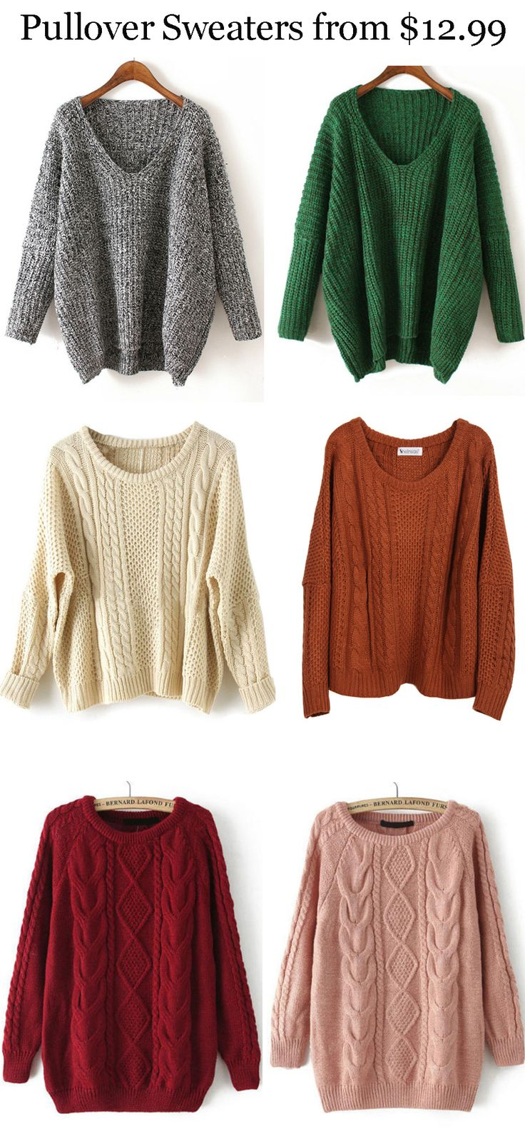 Pullover Sweater - Great material, Best Design, Our custom prefer this warm one so much !