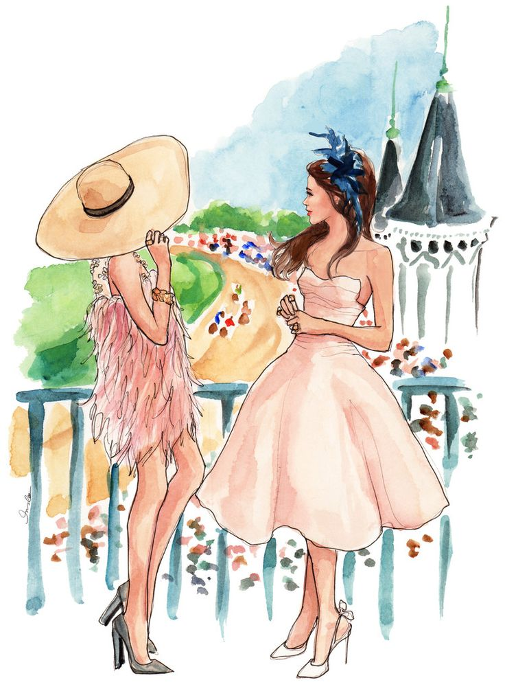 Inslee Fariss - The Sketchbook Blog - Derby Day