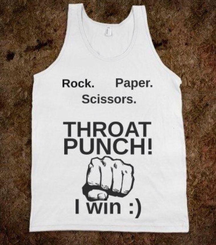 Throat punch