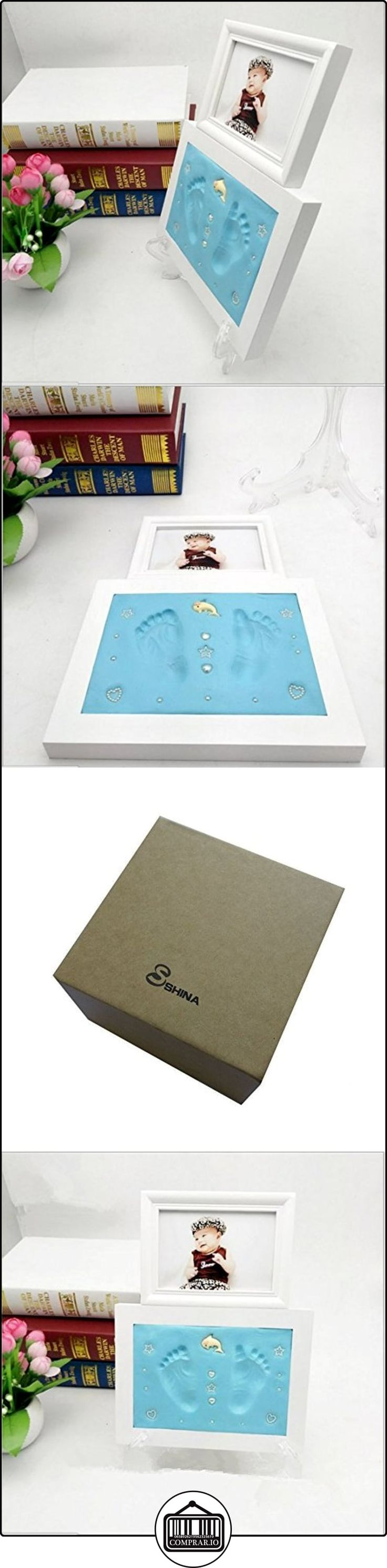 SHINA Impresiones de la mano y del pie del bebé mano del bebé Conjunto huellas Marco  ✿ Regalos para recién nacidos - Bebes ✿ ▬► Ver oferta: http://comprar.io/goto/B01N6DCWY1