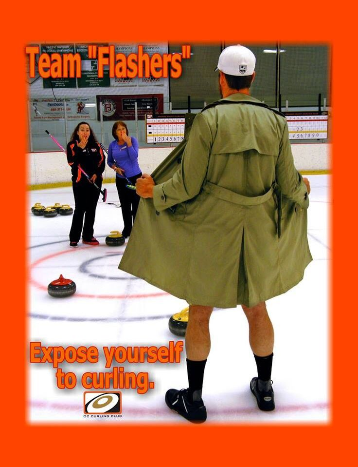 Expose Yourself To Curling Poster Bonspiel 2013 Ideas