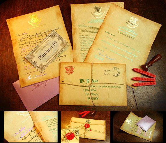 The 25+ best Hogwarts acceptance letter ideas on Pinterest - apology acceptance letter sample
