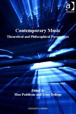 """Contemporary Music : Theoretical and Philosophical Perspectives"" CONTRIBUTORS Paddison, Max & Deliège, Irène PUBLISHER Ashgate Publishing Ltd DATE PUBLISHED September 2010  http://site.ebrary.com/lib/qut/detail.action?docID=10406806  https://www.youtube.com/playlist?list=PL2qcTIIqLo7VaWtb-AYGh0NFexusoQjgq"