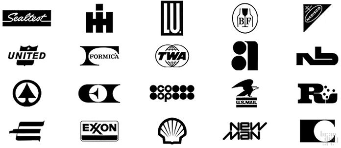 raymond-loewy-logotypes «La laideur se vend mal»