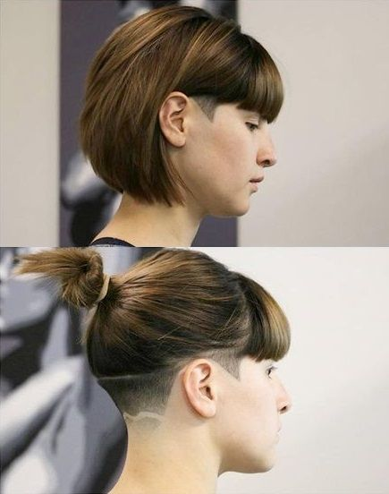 Astonishing The 25 Best Undercut Ponytail Ideas On Pinterest Long Undercut Short Hairstyles Gunalazisus