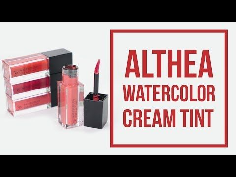 Review Watercolor Cream Tint Set Althea Ep 10 Poki Peach