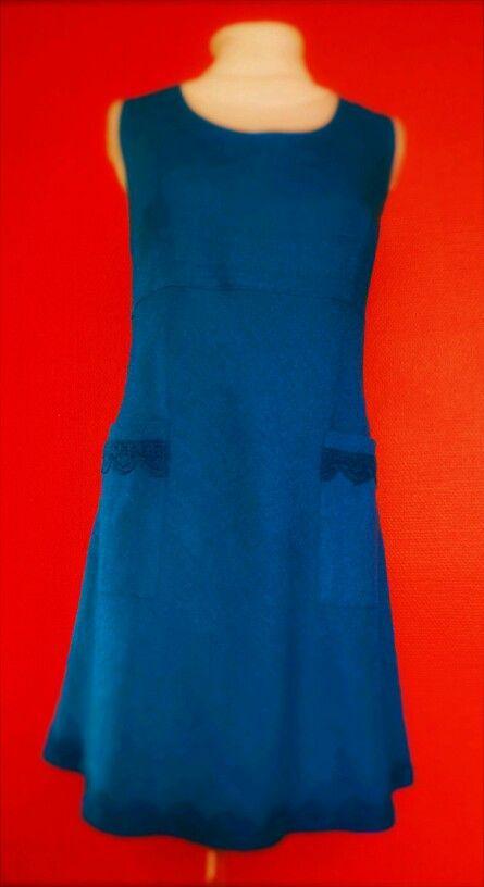 Blue linen dress tämä on viimeisin mekko jonka Virpi on tehnyt . Taas on yksi suunnitteilla mulla vasta päässä