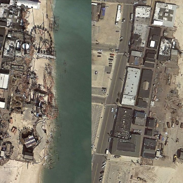 With Google Earth's sliding time-lapse tool, you'll see the shocking effects of bustling development, natural disasters, explosions and terror attacks.