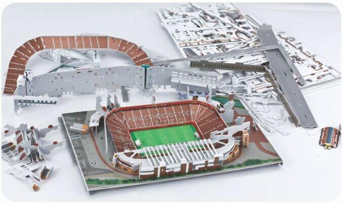 Puzzle stade de foot Old traford
