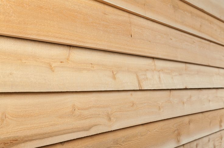 "Wood Siding - Eastern White Cedar Siding - Bevel 1""x6"""