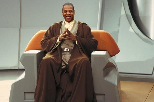 Jay Z as a Jedi Master