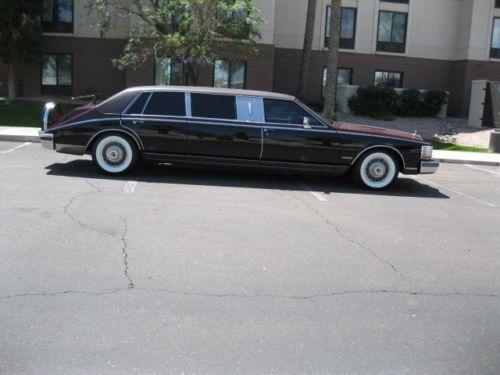 1981 Cadillac Seville Limousine CADILLACS