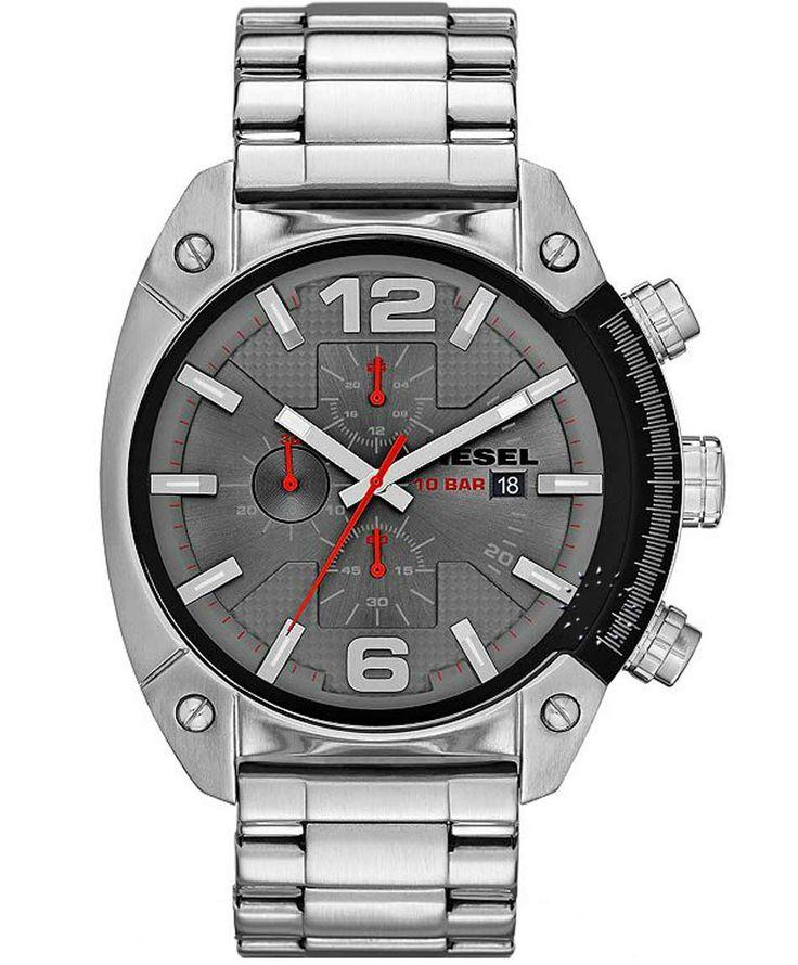 DIESEL Overflow Chrono Stainless Steel Bracelet Η τιμή μας: 175€ http://www.oroloi.gr/product_info.php?products_id=35319