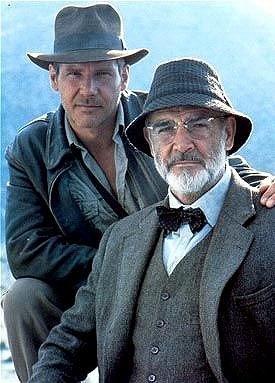 Indiana Jones and the Last Crusade (1989) -  Indy & Professor Henry Jones...Two of my favorite men!
