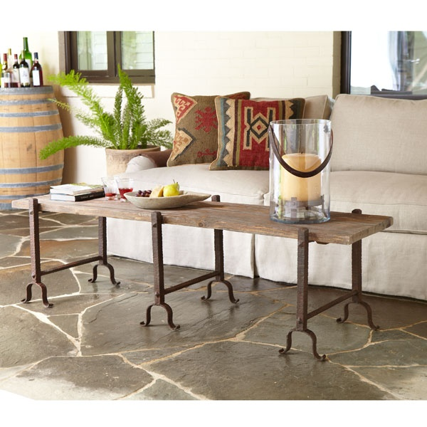 already purchased...and its going to be used as the co  cktail table in front of the 14' build in lounge