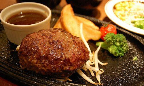 ミート矢澤のフレッシュハンバーグ