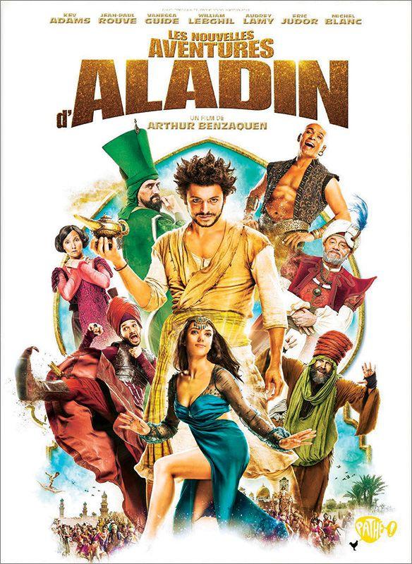 Les nouvelles aventures d'Aladin (DVD) Arthur Benzaquen Avec Kev Adams, Jean-Paul Rouve, Vanessa Guide ... Date de sortie : 17/02/2016
