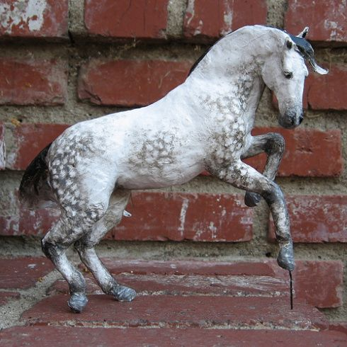 how to make paper mache animals step by step