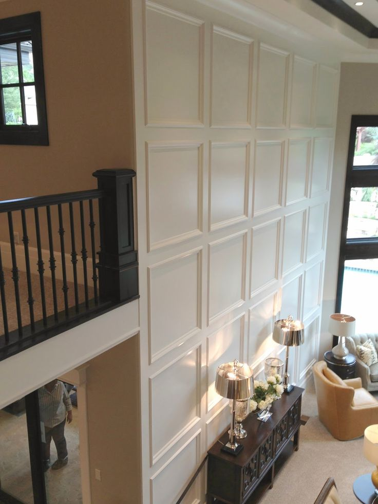 44 best 2 story wall ideas images on pinterest home on wall trim id=84323