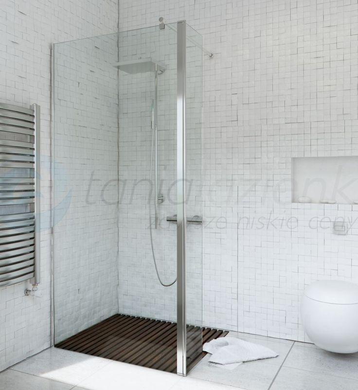 Ścianka prysznicowa narożna WALK IN FIX 90 cm