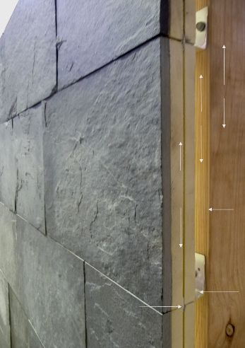 281 best wall cladding images on pinterest facades for Stone wall insulation