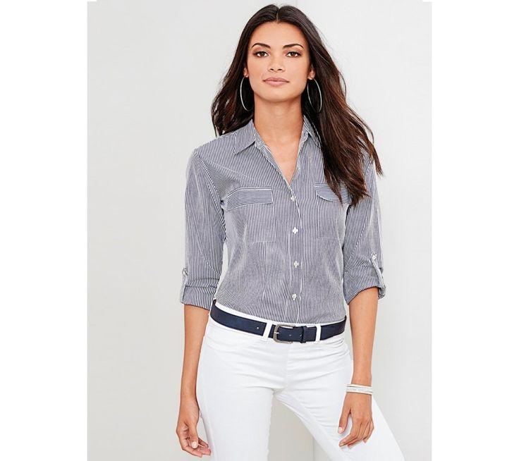 Pruhovaná košeľa | modino.sk #ModinoSK #modino_sk #modino_style #style #fashion #bluzka #tunika #kosela