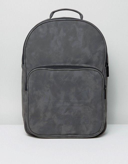 Adidas Originals Classic Backpack Bag Black Sport Casual 30 x 44 x 11 cm BK7056 #adidas #Backpack