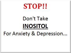If you are struggling with depression and anxiety then inositol can work wonders for you.