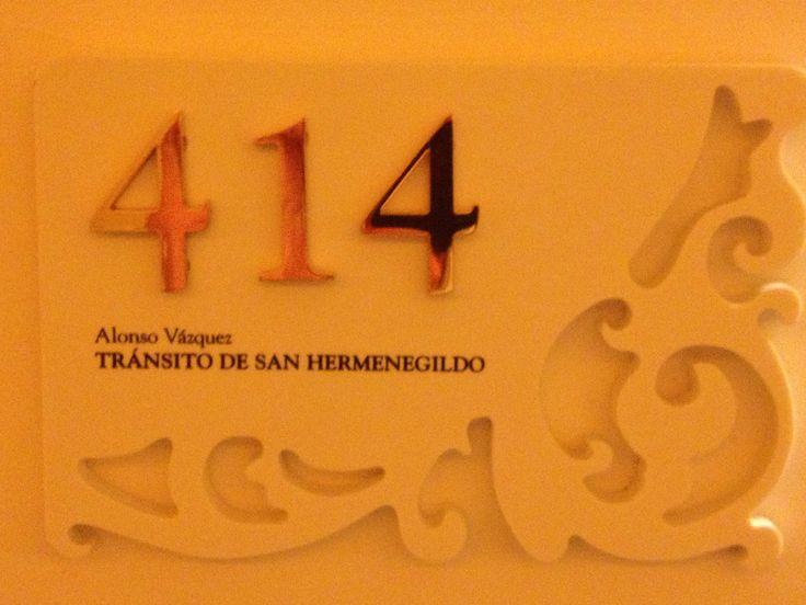 Detalle numero habitación hotel