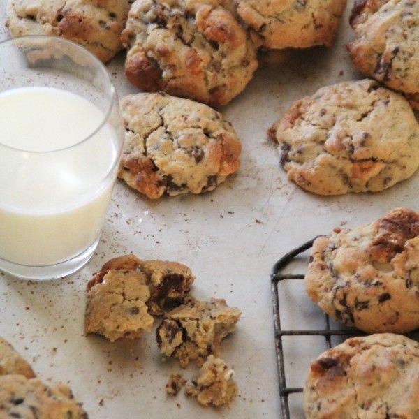 Cookies med sjokolade, marshmallows og frokostblanding!
