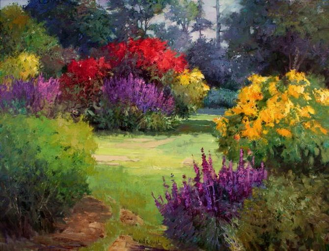 Image detail for -The Colorful Paintings of Kent R. Wallis   apm65
