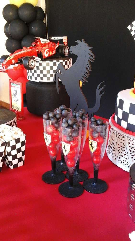 Ferrari  Birthday Party Ideas | Photo 10 of 14