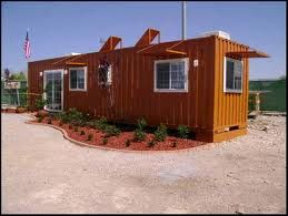 Cute idea for shipping container guest house