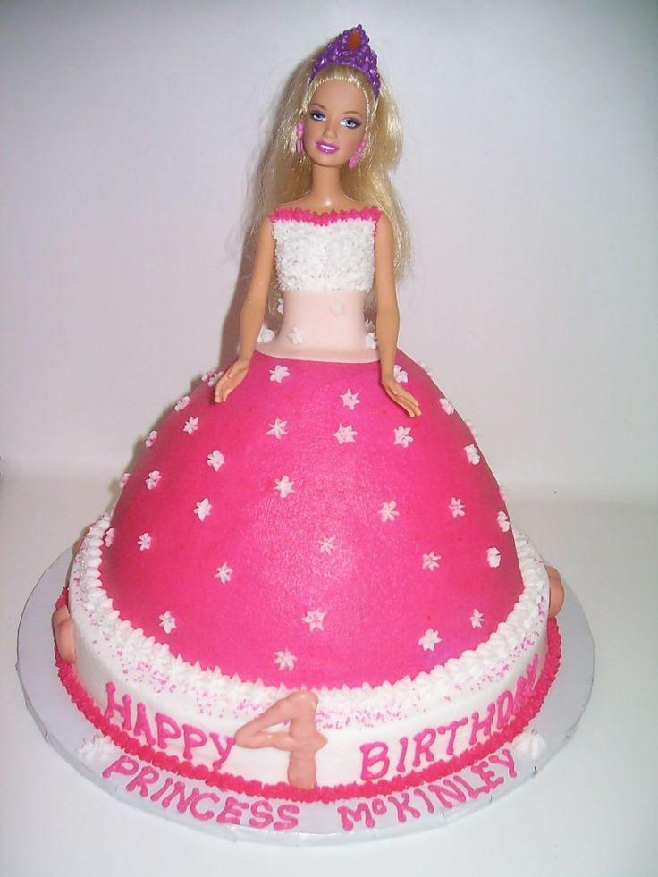 Barbie Fashion Fairytale Cake Ideas