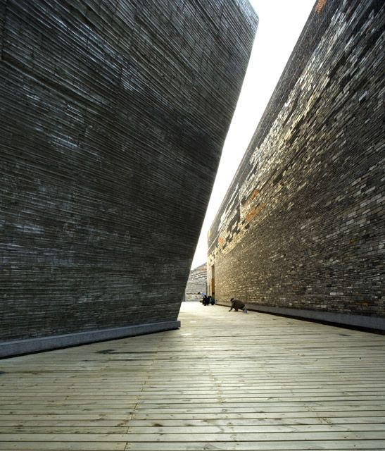 Selected Works: Wang Shu | The Pritzker Architecture Prize-  Ningbo History Museum