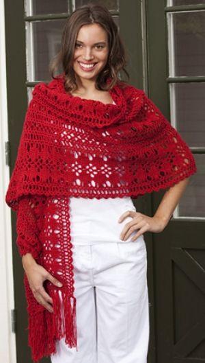 Hæklet sjal | Familie Journal
