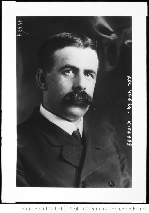 [Joseph] Foster Stackhouse, le fameux explorateur qui était à bord du Lusitania [qui coula le 7 mai 1915] : [photographie de presse] / [Agence Rol] - 1