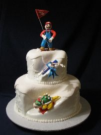 Winter Olympics Cake