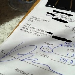 """Big Time Banker Leaves 1% Tip for Waitress + Another """"Tip:"""" """"GET A REAL JOB""""Get A Job, Stuff, Funny, Credit Cards, Newport Beach, Tips, Real Job, Restaurants, People"""