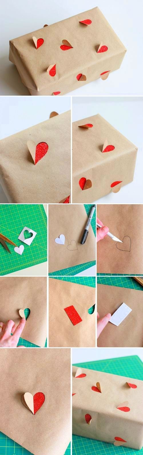 cute gift wrapping idea